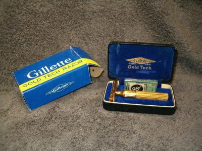 gillette gold tech razor