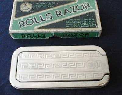 Dating rolls razor